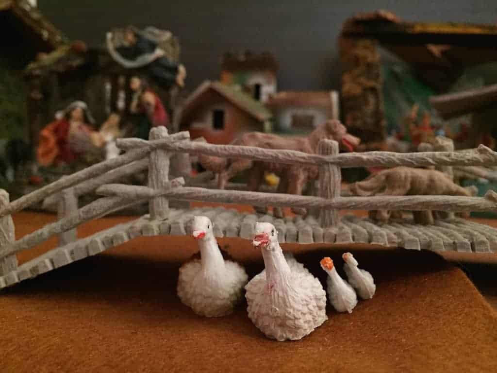Belén en casa, una tradición de la Navidad en familia