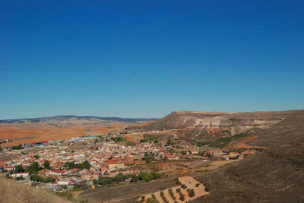 Vistas del municipio de Jadraque desde el Castillo del Cid, Jadraque, Guadalajara