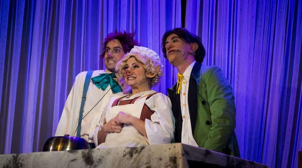 Personajes de La Bella y la Bestia el musical, de Mundiartistas