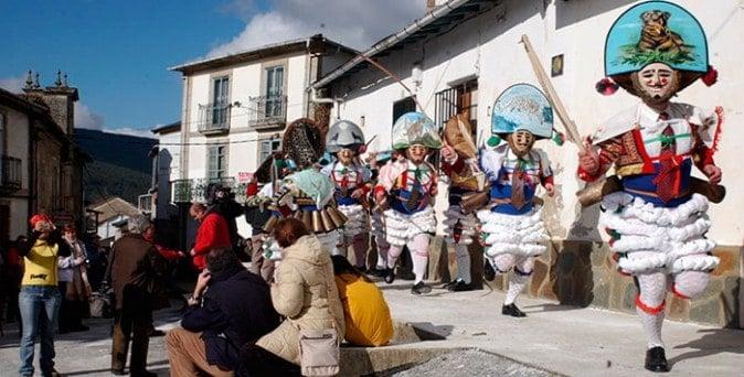Cigarron. Personaje de los carnavales de Laza, Ourense