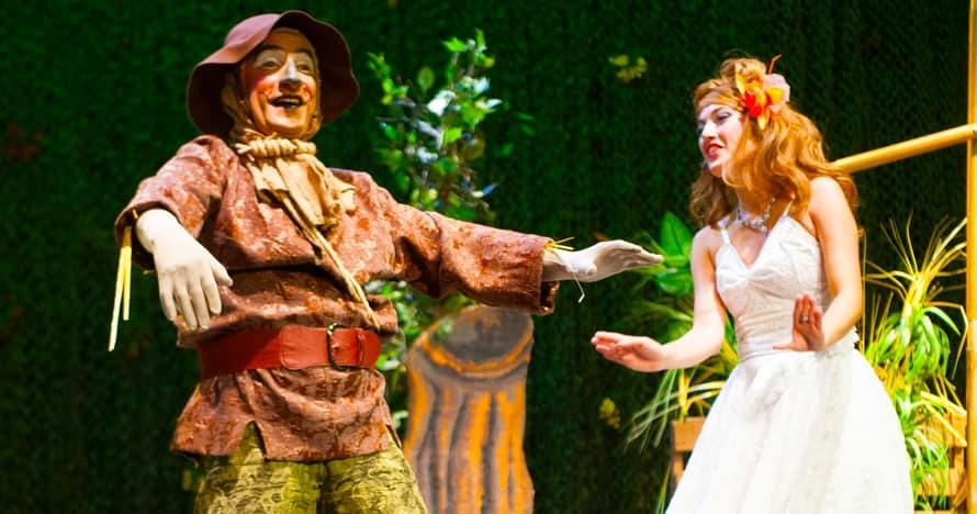 El Mago de Oz, la maquineta teatro