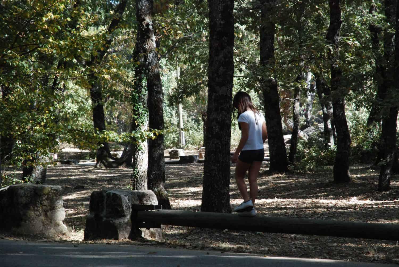 Área de picnic en la herrería, en el Escorial