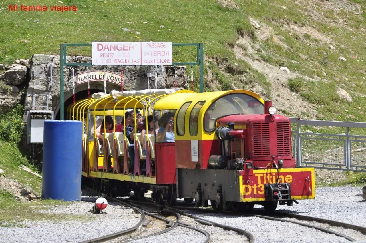 Salida del Tren Turístico de Artouste
