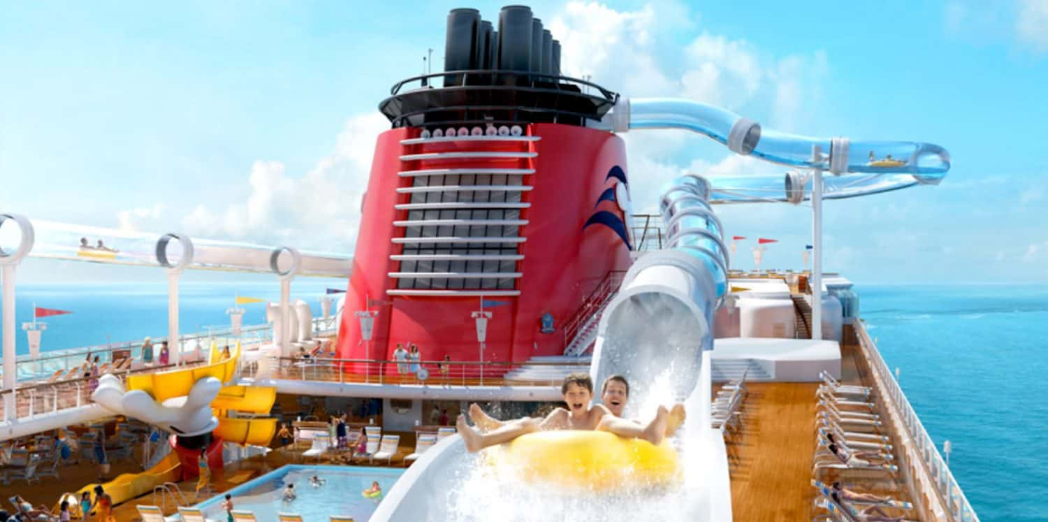 Piscina Disney Cruise Line