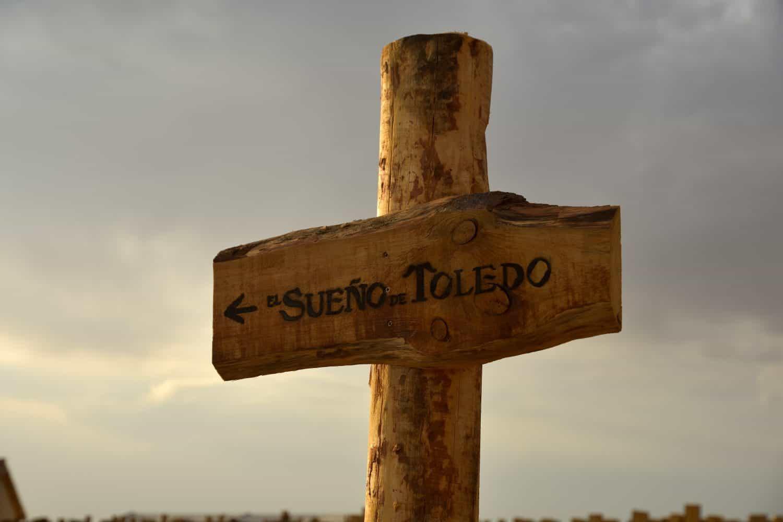 Entrada a El sueño de Toledo