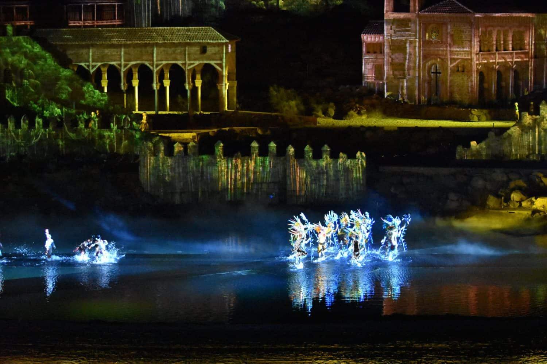El sueño de Toledo, el espectáculo nocturno de Puy du Fou España