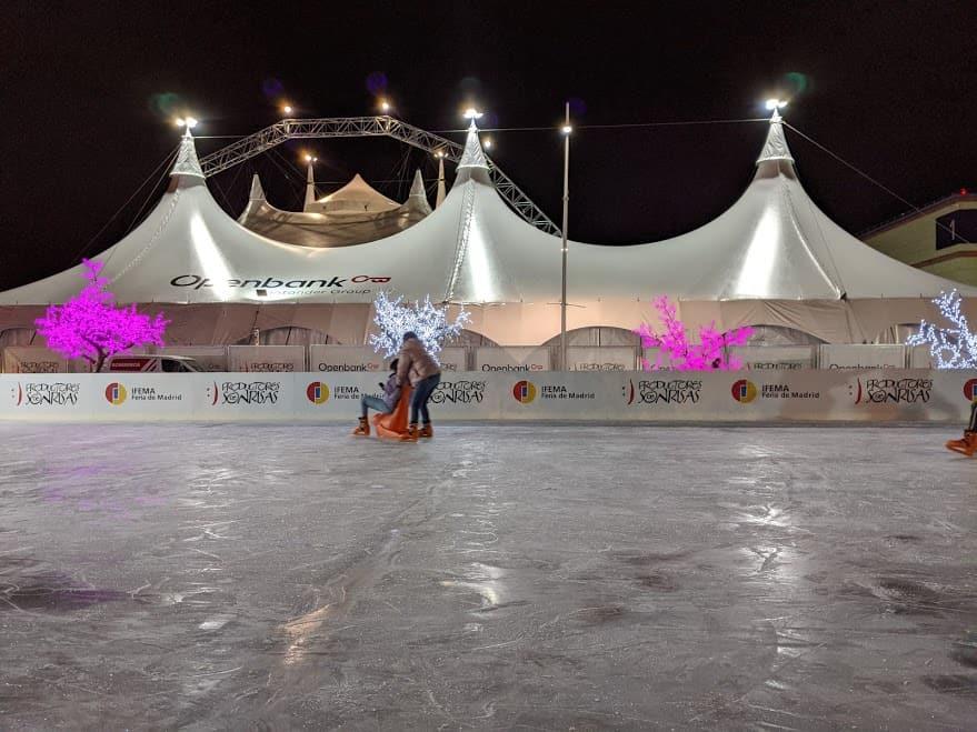 Pista de Hielo en Ifema, en El Circo de Hielo 2