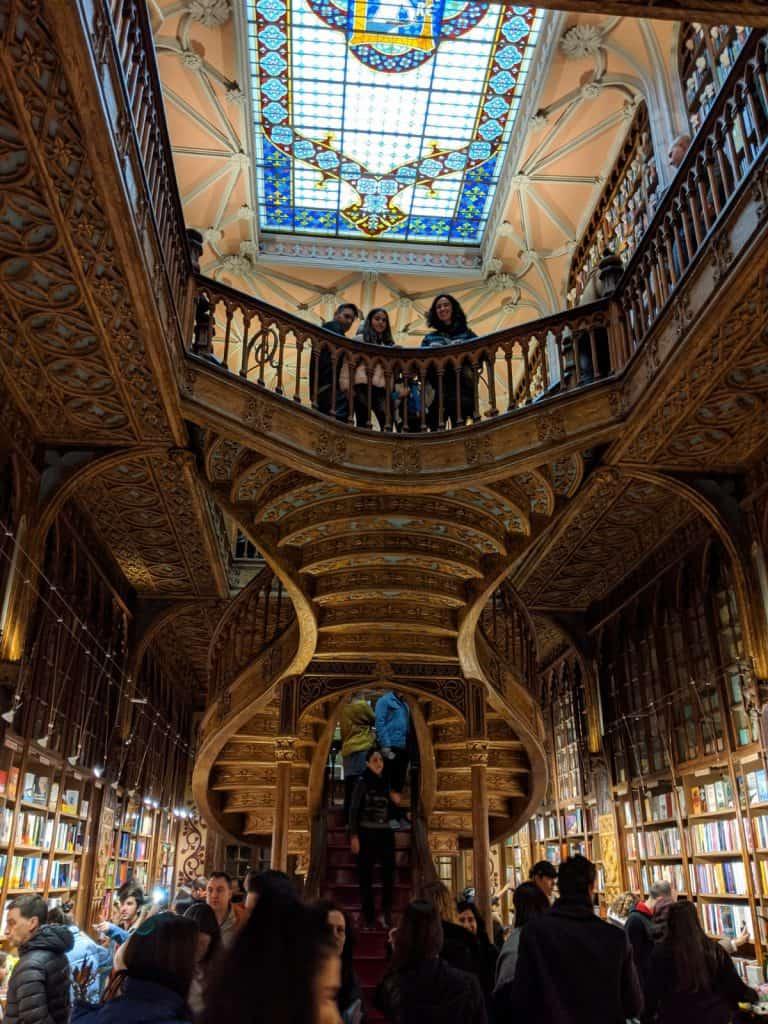Librería Lello, entre los lugares curiosos que ver en Oporto
