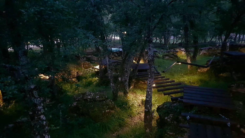 Bosque encantado Las Muelas, Valterria
