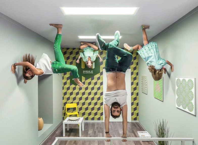 Qué hacer con los niños en Madrid: Museo de las Ilusiones