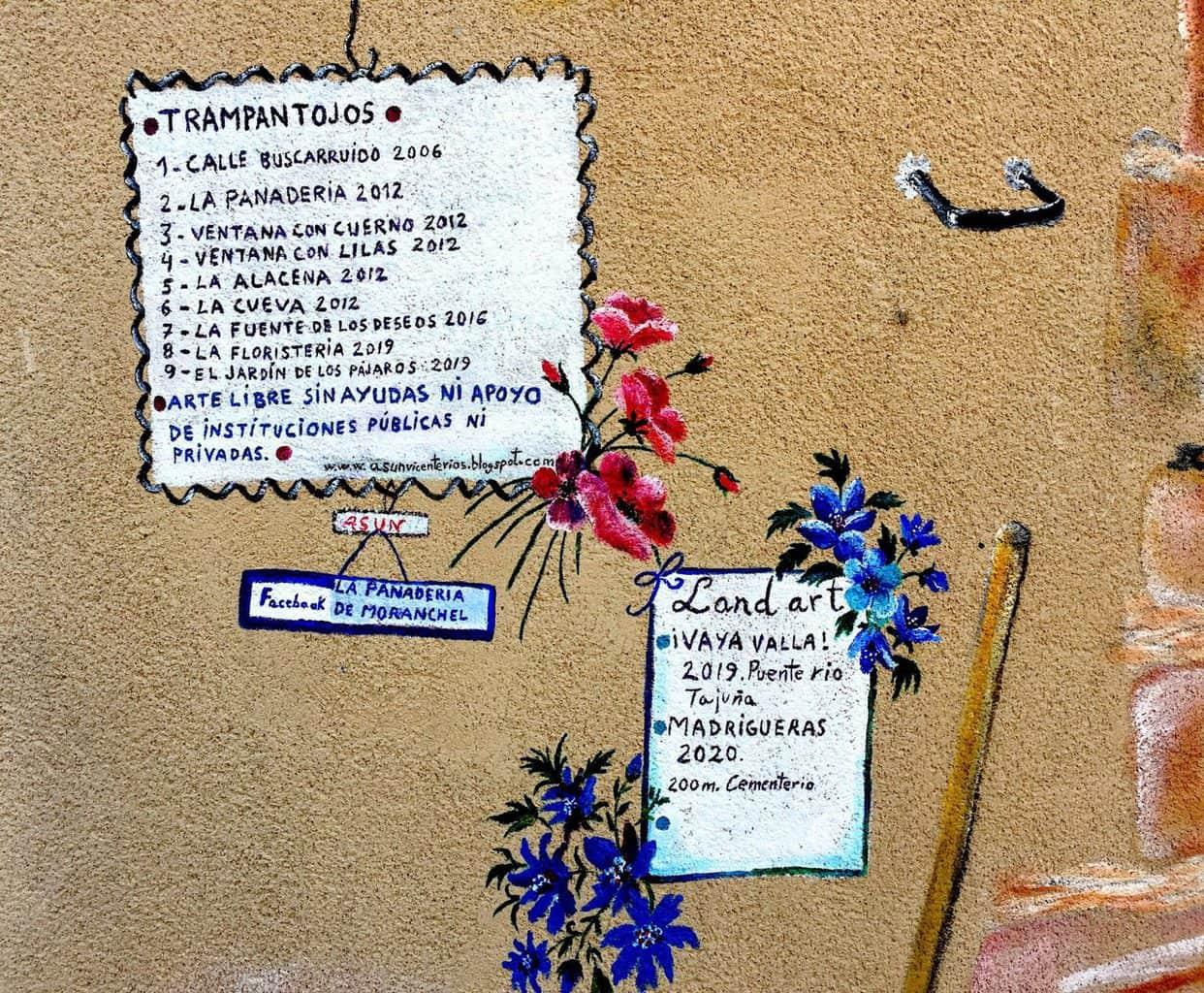 Arte urbano y Land Art en Moranchel, noviembre 2020